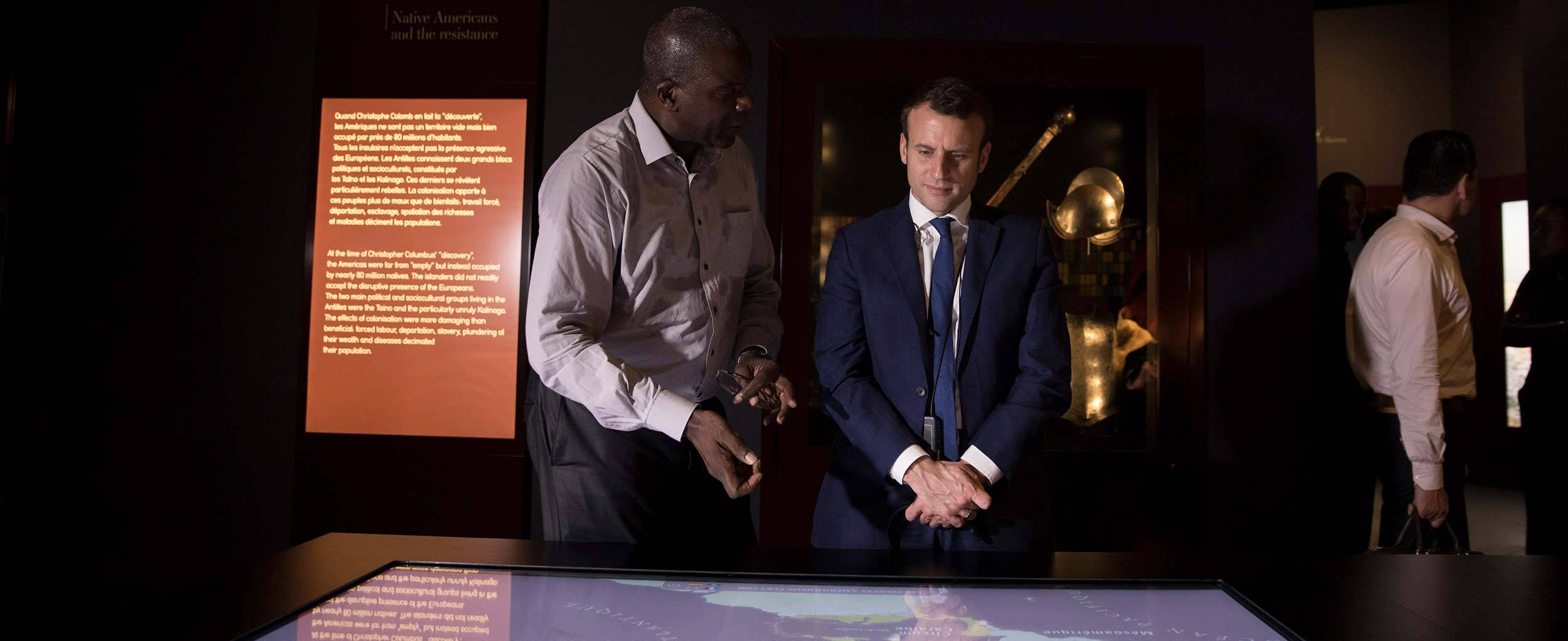 04-culture-musee-exposition-guadeloupe-emmanuel-macron