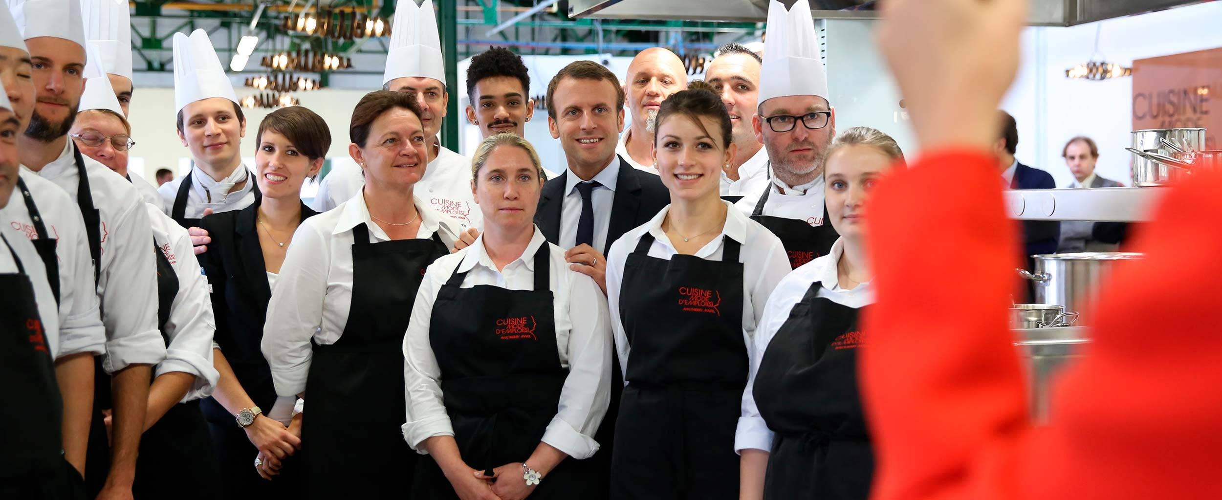 Le Programme D Emmanuel Macron Pour Les Entreprises La Republique