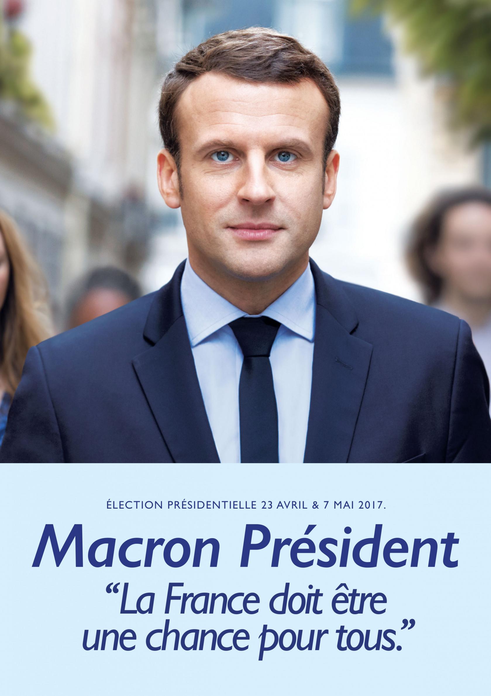 Un nouveau président… et maintenant ?  Affiche-campagne-macron-president-france-doit-etre-une-chance-pour-tous