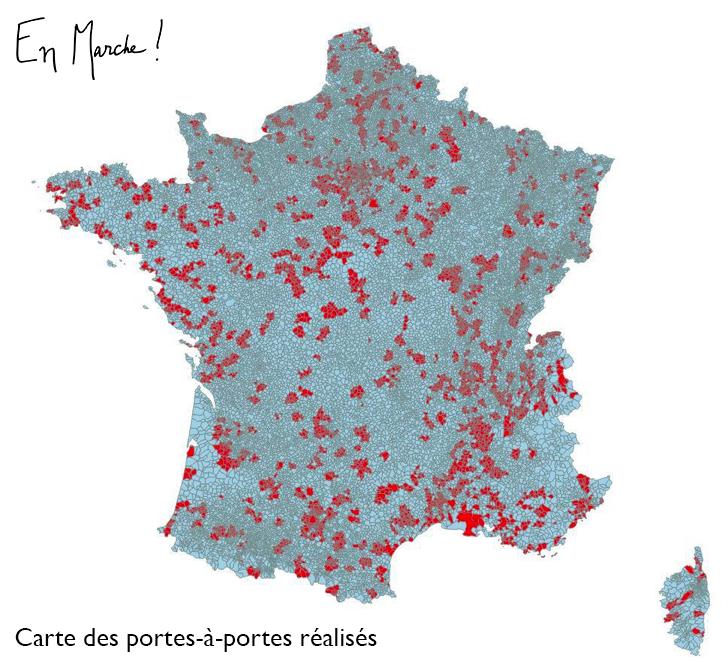 Carte Porte A Diagnostic Grande Marche Emmanuel Macron En