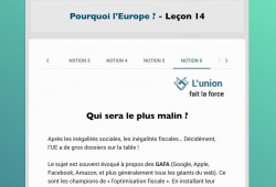 Formation Europe largeur