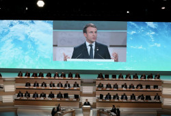 Macron discours One Planet Summit
