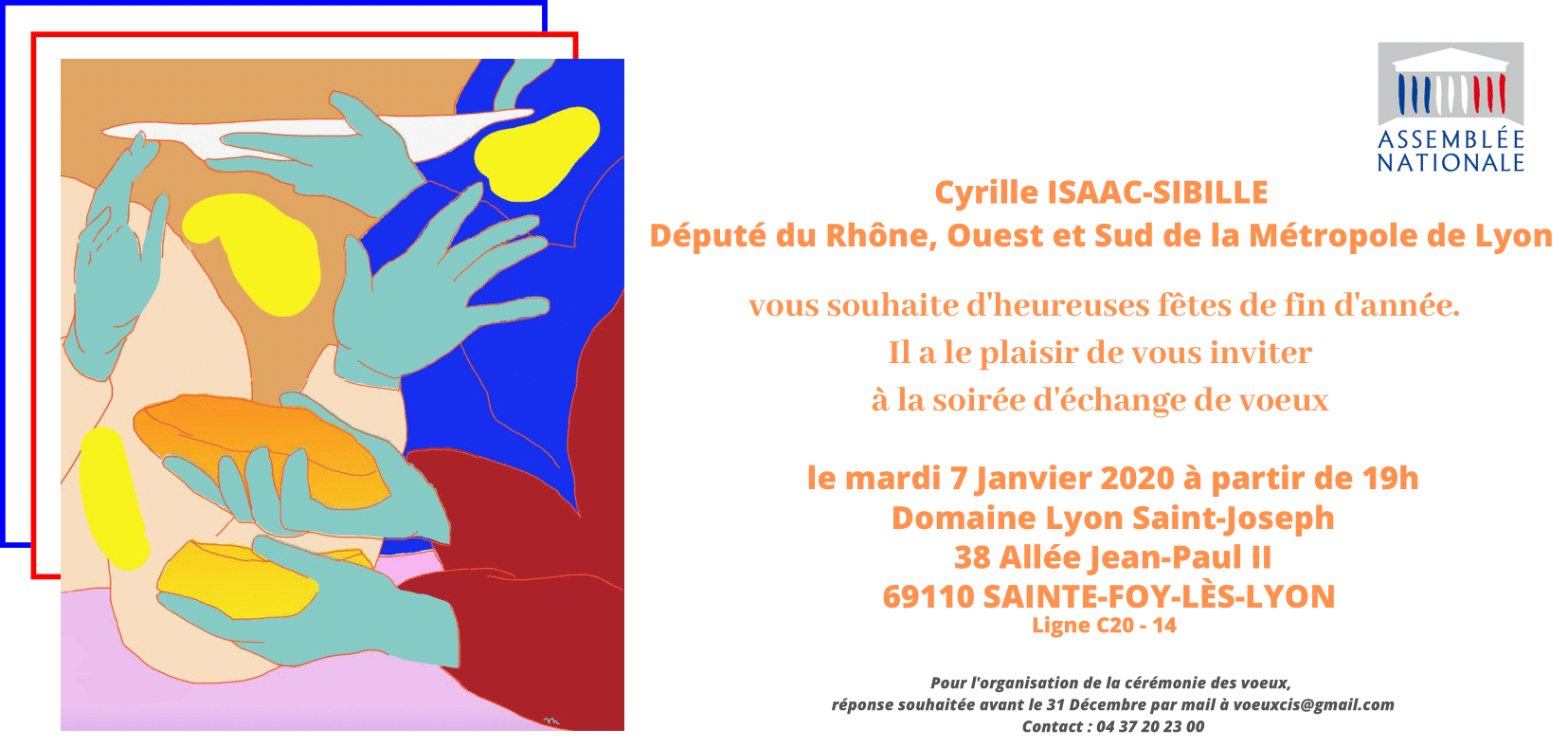 Voeux de Cyrille Isaac-Sibille
