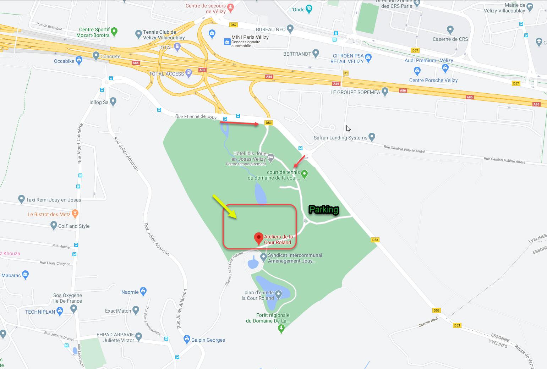 Plan de La Cour Roland