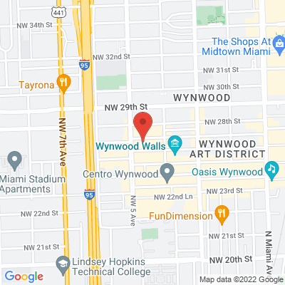Wynwood Cafe and Lounge - 450 NW 27th St., 33127 Miami, États-Unis