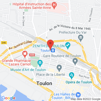Place de l'Europe, 83000 Toulon