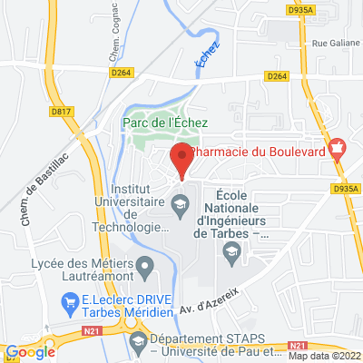 Université Paul Sabatier Rue Lautreamont, 65000 Tarbes