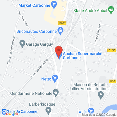 parking centre commercial Auchan, 31390 Carbonne