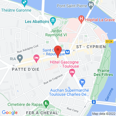 15 place Roguet (Saint Cyprien), 31300 Toulouse