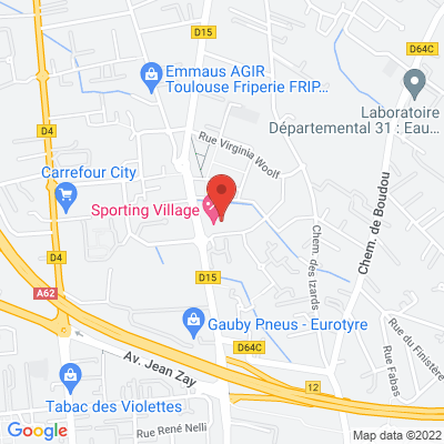 RESTAURANT SPORTING VILLAGE - 272 ROUTE DE LAUNAGUET, 31200 Toulouse