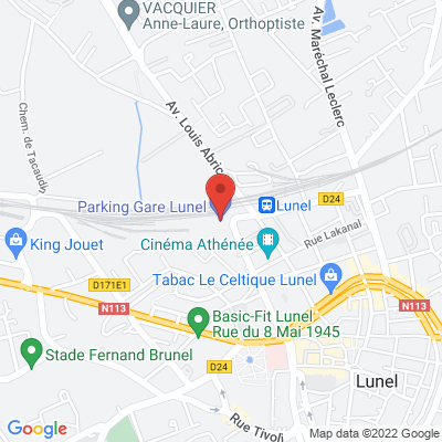 parking gare de lunel, 34400 Lunel