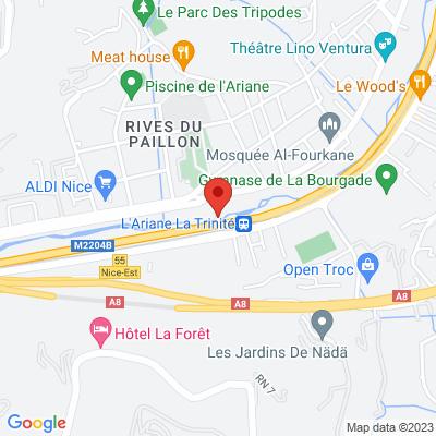Ariane Pont De La Liberte 06300 Nice