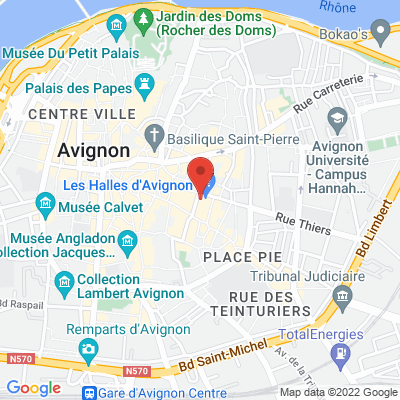 Place Pie face aux Halles, 84000 Avignon