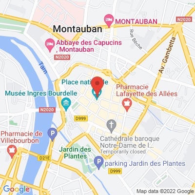 Place Nationale, 82000 Montauban