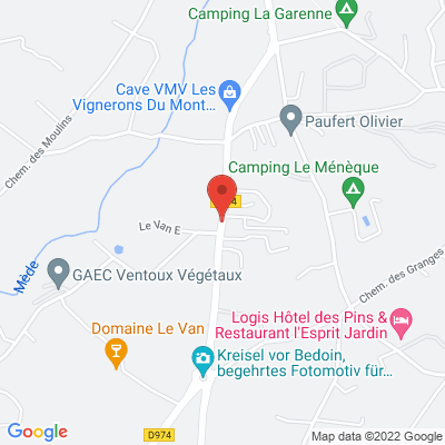Route de Carpentras, 84410 Bédoin