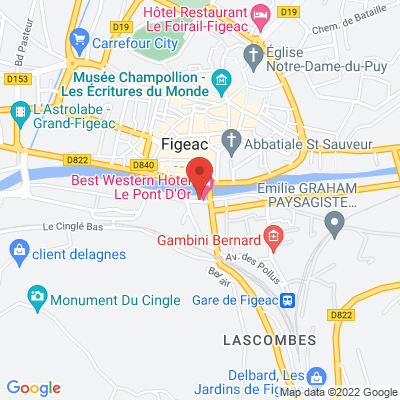 Parking Jean Jaures, 46100 Figeac