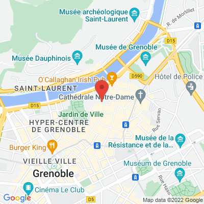 5 place St André, 38000 Grenoble