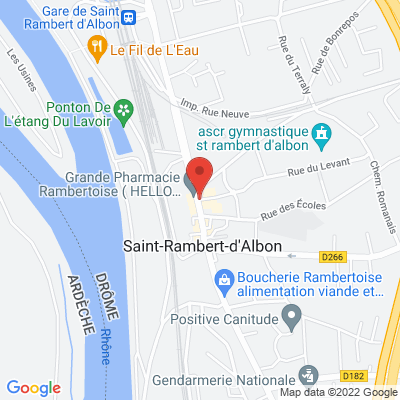 place Gaston Oriol, 26140 Saint-Rambert-d'Albon