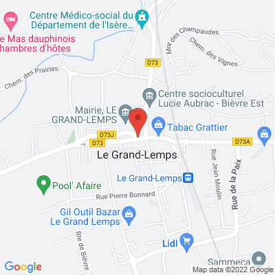 2 rue Lamartine, 38690 Le Grand-Lemps