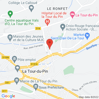 place carnot, 38110 La Tour-du-Pin