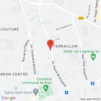 Place Jean  Moulin, 69500 Bron