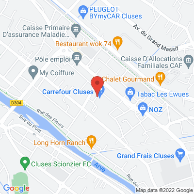 Carrefour Cluses, 74300 Cluses