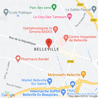 Salle Marc Julien – Parking de la Mairie, 69220 Belleville
