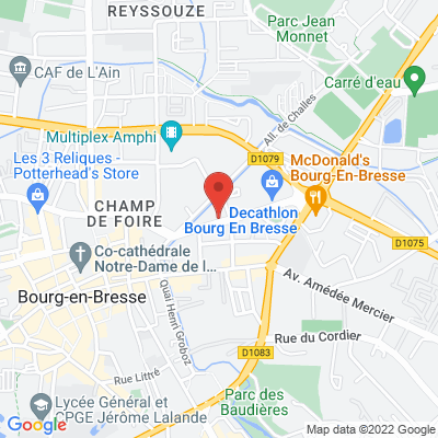 Maison des associations 5 avenue de belges, 01000 Bourg-en-Bresse