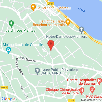 Parking de super U rue du clos Coutard, 49400 Saumur
