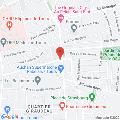 Place Rabelais, 37000 Tours