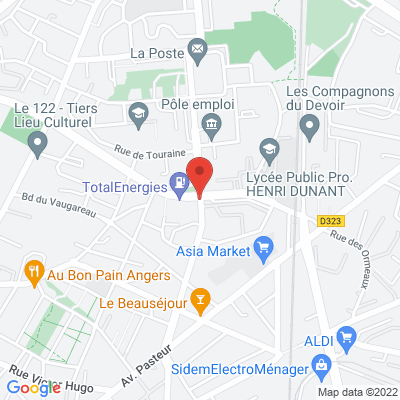 Boulevard Alloneau, 49100 Angers