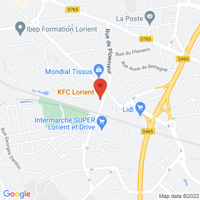 KFC - 2 rue des Micocouliers, 56100 Lorient