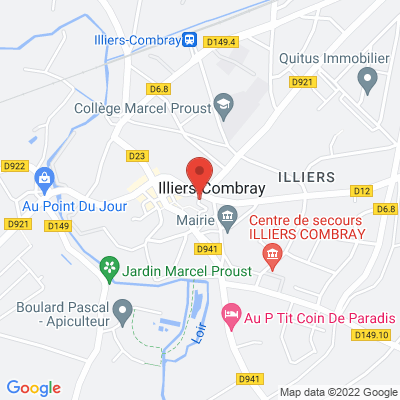 Centre ville, 28120 Illiers-Combray