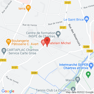 1 Rue Georges Pompidou, 28000 Chartres