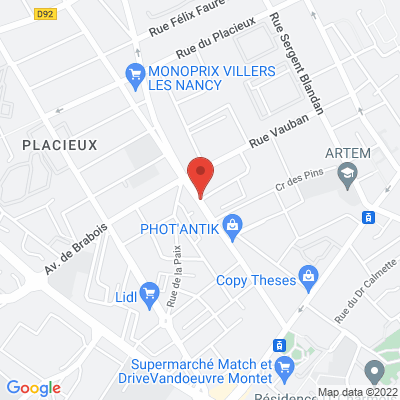 Boulevard d'Haussonville, 54000 Nancy