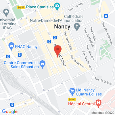 place charles 3, 54000 Nancy