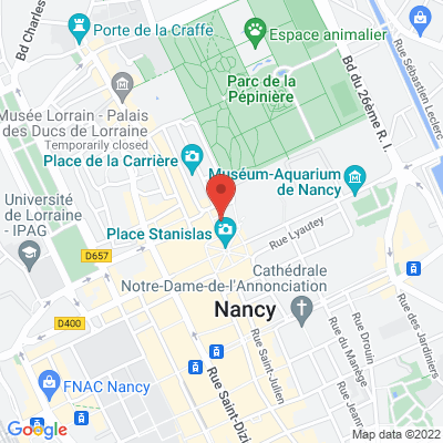 24  rue Héré, 54000 Nancy