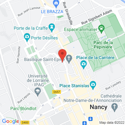 4 place Saint Epvre, 54000 Nancy