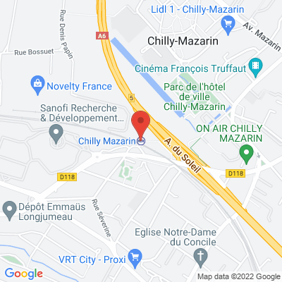 Gare de Chilly Mazarin, 91380 Chilly-Mazarin