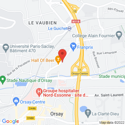 12 rue Charles de Gaulle, 91400 Orsay