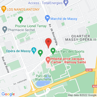 10 avenue du Noyer Lambert, 91300 Massy