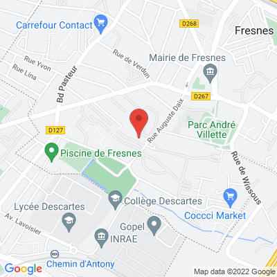 Centre Henri Thellier - Salle A, 94260 Fresnes