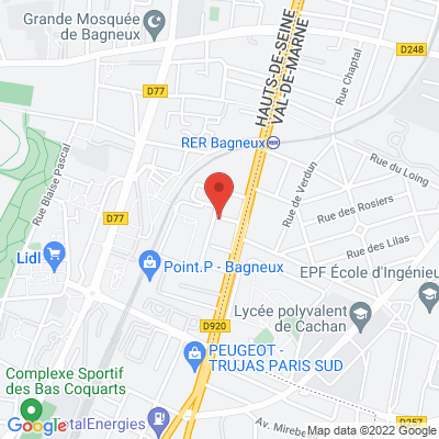 3 rue Abraham Lincoln, 92220 Bagneux