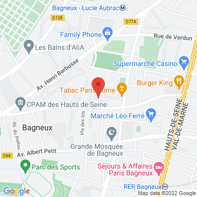 1rue ds pervenches, 92220 Bagneux