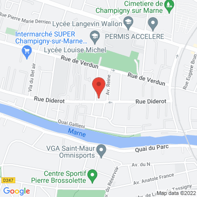 123 rue Diderot, 94500 Champigny-sur-Marne