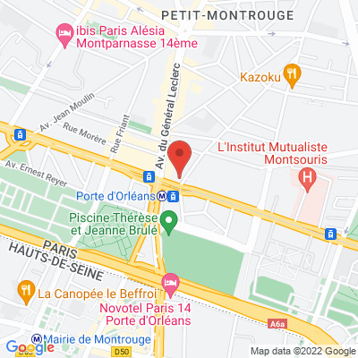 104  boulevard  Jourdan, 75014 Paris 14e