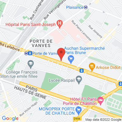 Paris Sud  57 Bd Brune, 75014 Paris 14e