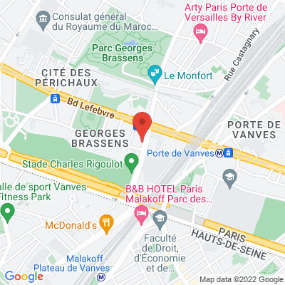 6 avenue de la Porte Brancion, 75015 Paris 15e