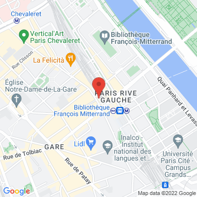 72 rue du Chevaleret, 75013 Paris 13e