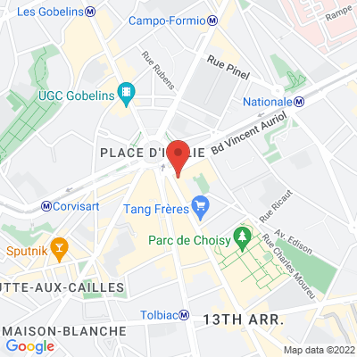 RDV au café ''La Place'' - 194 Avenue de Choisy - 75013 - Paris - Métro place d'Italie, 75013 Paris 13e